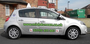 Mick Duncan ADI Tuition Vehicle